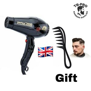 """Parlux 3800 Eco Friendly Professional Hairdryer IONIC & CERAMIC """"UK SELLER"""""""