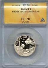 2019-S $1 Native American Proof Dollar PF 70