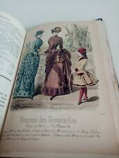 Journal des Demoiselles 1884 Gravures de Mode en couleurs 52e année