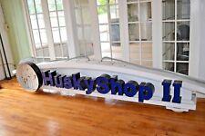 Original Lighted & Neon Store Sign Uconn Husky Shop Sign