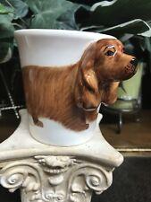 American Cocker Spaniel 3d ceramic coffee mug Hand Painted New
