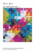 Alternative Geometric Modern Quilt Pattern by Alison Glass