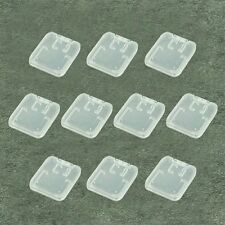 10pcs TF Micro SD SDHC Memory Card Plastic Case White I