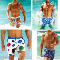 Men's Beach Swimming Swim Trunks Surf Board Shorts Swimwear Slim Summer Pants