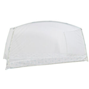 Folding Freestand Bed Canopy Mosquito Net Tent For King Bed 190CM L Double Door