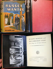1936 NATIVE AMERICAN AUTHOR LYNN RIGGS RUSSET MANTLE & CHEROKEE NIGHT DUSTJACKET