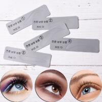 5 Stück Augenbrauen Shaping Schablonen Pflege Make-up Former Vorlage ZeichACD