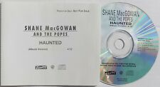 POGUES CD SHANE MacGOWAN & SINEAD O'CONNOR Haunted 1 Trk USA PROMO UNPLAYED