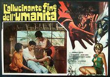 CINEMA-fotobusta L'ALLUCINANTE FINE DELL'UMANITA' rogers, roos, NORMAN COOPER