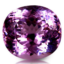 56.31CT HUGE! GLITTERING EYE CLEAN QUALITY NATURAL PINK KUNZITE LOOSE GEMSTONE
