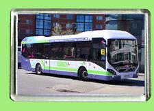 VOLVO 7900H HYBRID BUS  FRIDGE MAGNET WITH 70MM X 45MM INSERT PHOTO (F463N)