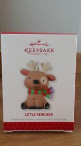 Hallmark Little Reindeer 2013 Christmas Ornament