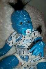 Reborn Avatar Artist Baby Doll Mythical Fantasy Ooak Alternative Alien fairy