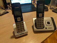 USED VTech CS6719-2 2-Handset Expandable Cordless Phone No POWER SOURCE
