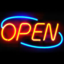 Open Cafe Business Windows Neon Sign Lamp Light Acrylic Beer Bar With Dimmer