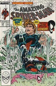 Amazing Spider-Man # 315 VF/NM 1989 Marvel 1st App Venom on Cover (Head)