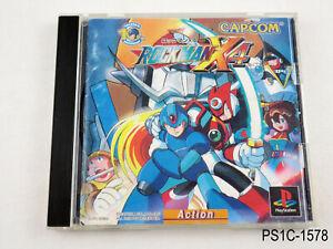 Rockman X4 Playstation 1 Japanese Import PS1 Megaman Japan Region JP US Seller C
