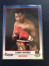 LARRY HOLMES Easton, PA  1991 KAYO Boxing #189  NM/MT+ w/Top Loader!
