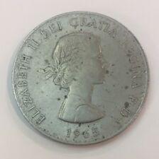 1965 ELIZABETH II DEI GRATIA REGINA F.D. CHURCHILL COIN