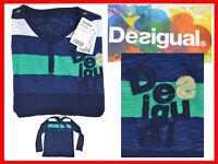 DESIGUAL Maglietta Uomo Taglia M  *QUI CON SCONTO* DE10 T1P