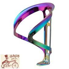 SUPACAZ FLY CAGE ALLOY OIL SLICK WATER BOTTLE CAGE