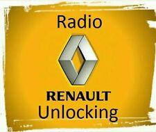 Renault Decode Unlock Code Car CD Radio Player Trafic MB citan/kangoo