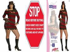 Nightmare On Elm Street Miss Krueger Costume 14-16, Brown/ Red