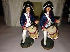 KING & COUNTRY AMERICAN REVOLUTIONARY DRUMMERS SET OF TWO