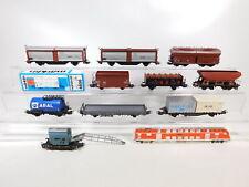 CC256-2# 10x Märklin H0/AC Güterwagen DB/SNCB: 4656+4626+4611 etc, Bastler/gut