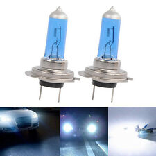 2x H7 55W 5000K XENON HID WHITE EFFECT LOOK HEADLIGHT LAMPS LIGHTS BULBS 12V