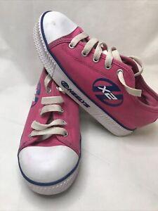 Heelys X2 - Fushia Pink/ Navy - Girls UK size 2