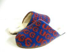 UGG SCUFF POP MEN SLIPPERS SUEDE  BLUE/ORANGE US 12 /UK 11 /EU 45