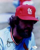 Bruce Sutter Jsa Certified Authentic Hand Signed 8x10 Photo Autograph Cardinals