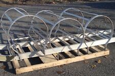 """4 FT FIXED BUILDING LADDER ALUMINUM SAFETY CAGE 30 INCH INSIDE DIAMETER FOR 20"""""""