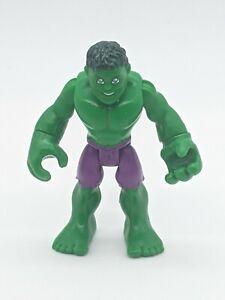 Playskool Marvel Super Hero Adventures HULK Figure Purple Shorts