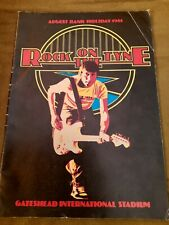 More details for rock on the tyne programme 1981+2 tickets