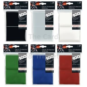 Ultra PRO Deck Protector Sleeves Standard Card Size 100ct 66 x 91mm