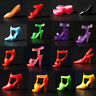 40pcs 20 Pair Diffirent High Heel Shoes For 290mm Doll Toy Accessories HM