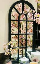 WINDOW STYLE MIRROR GIRLS WINDOW ARCH SOHO WINDOW MIRROR HALLWAY  MIRROR 69cm