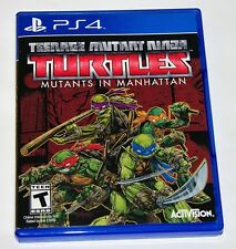 Replacement Case (NO GAME) Teenage Mutant Ninja Turtles Playstation 4 PS4 Box