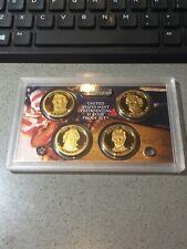2010 S Presidential U.S. Mint Proof Set Filmore-Pierce-Buchanan- Lincoln