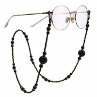 Fashion Pearl Beaded Eyeglass Spectacle Glasses Chain Neck Holder Cord Lanyard