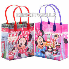 6 Pcs Minnie Mouse Authentic Licensed Small Party Favor Goodie Bags