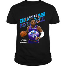 Mitchell Utah Jazz Donovan Mitchell Gift For Fan Black T Shirt Best Gift For Fan