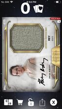 Topps Star Wars Digital Card Trader Black Rey Boots Signature Relic Insert