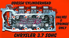 JEEP DODGE LIBERTY DAKOTA 3.7 SOHC CYLINDER HEAD VAL&SPR ONLY LEFT SIDE REMAN