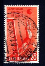 ITALIA - Regno - 1934 - 2° Campionato mondiale di calcio - 20 c. arancio - Parat