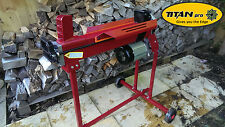 7 Ton Electric Log Splitter from Titan Pro | Hydraulic Logsplitter | With Stand