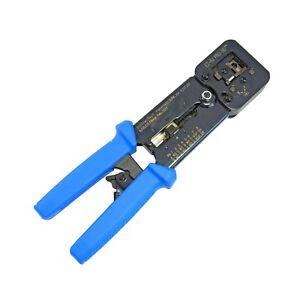 Platinum Tools EZ RJPROHD Crimp Tool 100054C for ezRJ45 Cat5e, Cat6 Connectors