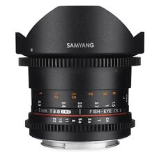 LENS Samyang 8mm VDSLR II T3.8 Fish-eye CS II for Canon SALE